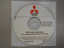 2010 MITSUBISHI LANCER SPORTBACK Service Repair Manual CD FACTORY OEM BA... - $79.16
