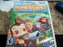 Super Monkey Ball: Banana Blitz (Nintendo Wii, 2006) - $5.93