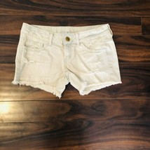 American Eagle Women's Shorts Size 2 Cutoff Jean Booty Distressed Denim New - $15.45