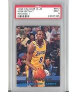 1996-97 Stadium Club Kobe Bryant Rookies 1 #R12 PSA 9 Rookie Card RC Gra... - $378.94