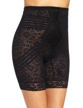 Rago Hi Waisted Long Leg Shaper Shapewear (1X Black) [Apparel] - $48.00
