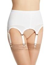 Rago Women's Six Strap Shaper Garter Belt, White, Medium/28 [Apparel] - $30.13