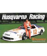 Husqvarna Racing Larry Caudill NASCAR Racing Card 1994 - $7.99
