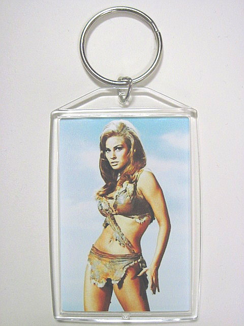 Raquel welch keychain one million years