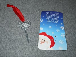 SANTA KEY - Santa's Magic Key for houses without a Chimney! - ornament o... - $2.95