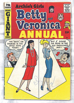 Archie's Girls Betty & Veronica Annual Archie Comics GIANT 1959 Series 7... - $45.99