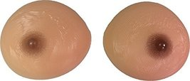 Wide Silicone Breast Forms Mastectomy Wider Sun kiss color Size 5(M) 34C 36B 38A - $38.88