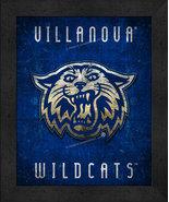 "Villanova Wildcats ""Retro College Logo Map"" 13 x 16 Framed Print  - $39.95"