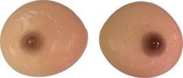 Silicone Breast Forms Mastectomy Wider Sun kiss color Size 11(5XL) 40E 42DD 44D - $74.80