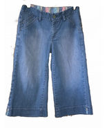 GAP Gaucho Style Cropped Jeans Size 4 Denim 30x18  - $6.00