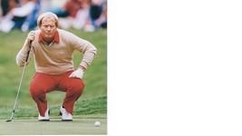 Jack Nicklaus Vintage 8X10 Color Golf Memorabilia Photo - $4.99