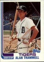 1982 Topps Alan Trammell #475 Detroit Tigers (VF) Baseball Card - $0.99