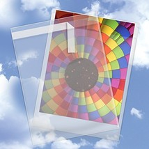 10 x 13 Inch Crystal Clear Cello Sleeve 250 Pack - Resealable Cellophane... - $37.01