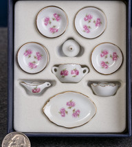 Reutter Porcelain Miniature  Mini Tea Set  in Dollhouse Scale 1:12  (#7) - $45.95