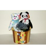 Ty Kissme and Fortune Beanie Babies Bears in a ... - $9.00
