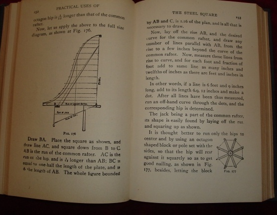 The Steel Square, A Practical Treatise on the Application by Fred T Hodgson