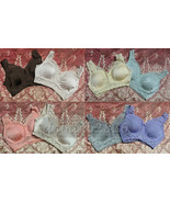 "RHONDA SHEAR ""PIN UP GIRL"" LACE LEISURE BRA 2 PACK - $15.83"