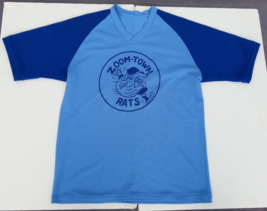 Retro Local Baseball Jersey - The Zoom Town Rats - Lucky Number 13 - Men's XL  - $35.00