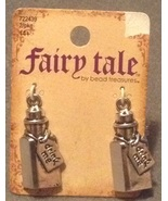 Set of 2 Fairy Tale Fantasy Drink Me Charms Story Book Inspired Necklace... - $7.99