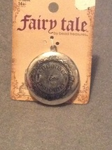 Fairy Tale Fantasy Story Book Curiouser & Curiouser Locket Necklace Pendant - $7.99