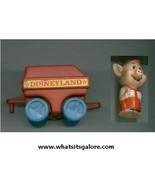 DISNEYLAND PLAYSET parts - train + Practical Pig figure 1986 - $10.00