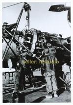 B-17 Ground Crews at Work 12 O'clock High RARE 4x6 PHOTO in MINT CONDITI... - $11.83