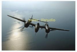 P-38 Lightning in Flight 12 O'clock High RARE 4x6 PHOTO in MINT CONDITIO... - $11.83