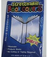 Kittrich Book Cover, Stretchable, Blue and White BS16-45106-01 - $5.77