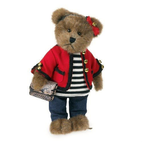 "Boyds Bears ""Coco DeBearvior""  10"" Bear- #4038160- NWT- 2013 -Retired"
