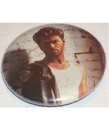 GEORGE MICHAEL BUTTON        NEW!  ROCK & ROLL!  WHAM! - $19.79