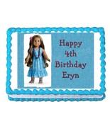 American Girl Kanani edible cake image cake topper party decoration - $7.80