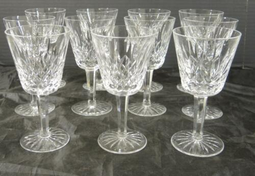 Primary image for Eleven Waterford Wine Stems * Lismore Pattern