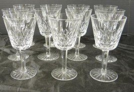 Eleven Waterford Wine Stems * Lismore Pattern - $242.24