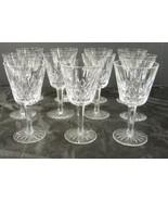 Eleven Waterford Wine Stems * Lismore Pattern - $242.24