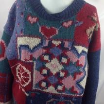Woolrich Wool Easter Sampler Sweater Jumper Bunny Valentine Hearts Lamb ... - $44.55
