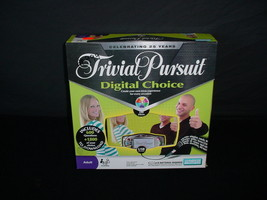Trivial Pursuit Digital Choice Game Electronic Parker Brothers Board - $3.91