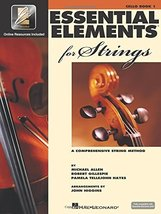 Essential Elements for Strings - Book 1 with EEi: Cello [Paperback] Gill... - $22.49