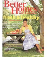 Better Homes and Gardens magazine August 2011 Fresh & Healthy - $8.99