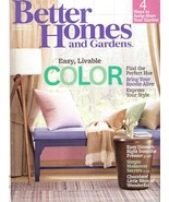 Better Homes and Gardens Magazine February 2013   Easy Livable Color - $6.00