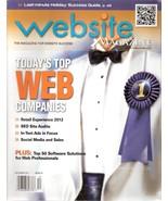 Website Magazine December 2011 Today's Top web Companies - $9.99