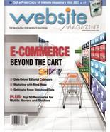 Website Magazine  August 2011 E-Commerce Beyond the Cart - $9.99