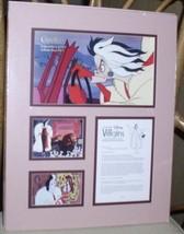 Cruella DeVil 101 Dalmatians Disney Villain Cast member only  Lithograph - $99.99