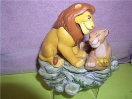 Disney Lion King and Simba Nala Music Box Schmid good condtion - $69.99