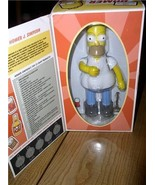 The Simpsons Homer Tin wind up w/  beer can Action Toy - $49.99