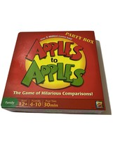 2007 Mattel N1384 Apples To Apples Party Box 12+ Family Card Game - $8.60