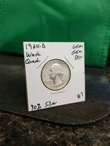 1964-D Gem Gem BU+ Washington Quarter 90% Silver!!! LOOK!!! - $5.94