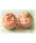 Halloween cupcake soaps. set of 2 - $8.50