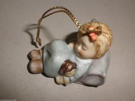 Goebel Berta Hummel All Tuckered Out Angel Ornament #935102 - $11.88