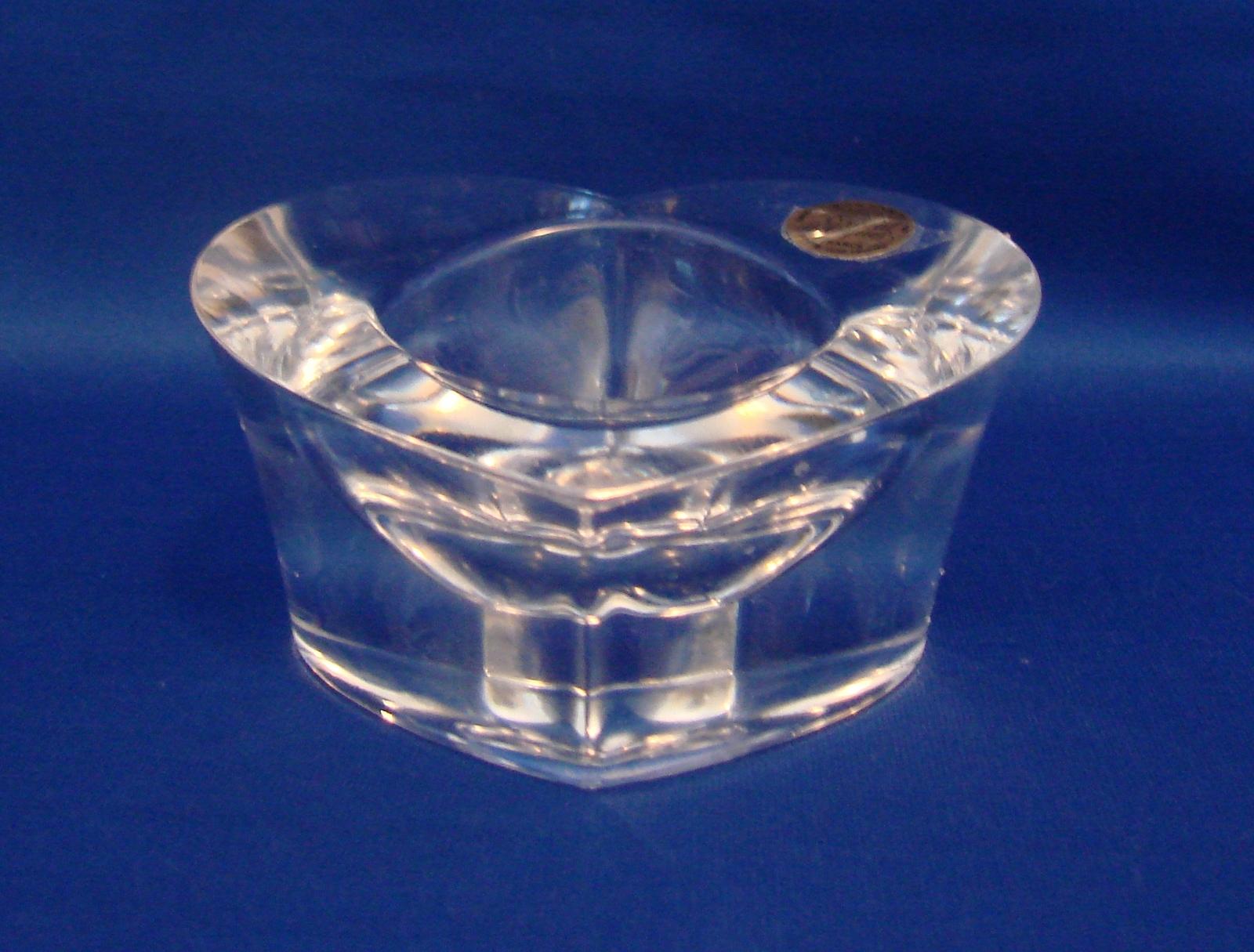 cristal d 39 arques candle holder 2 listings. Black Bedroom Furniture Sets. Home Design Ideas