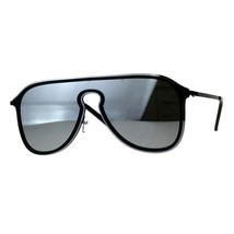 Designer Style Sunglasses Unisex Retro Keyhole Aviators Mirror Lens - $10.75
